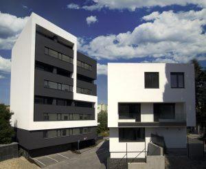 Výstavba Villa Cosmopolitan, Bratislava