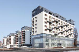 Výstavba polyfunkčného objektu BORIA, Bratislava