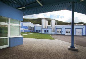 Rekonštrukcia mliekarenského závodu, Zvolen