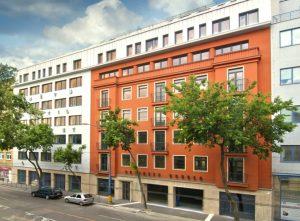 Rekonštrukcia budovy na Business center Štefániková, Bratislava