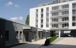 Výstavba polyfunkčného bytového objekt Hrachová, Bratislava