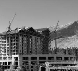 Výstavba hotela Damian, Demänovská dolina – Jasná
